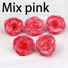 New Lot 10-50-100pcs Artificial Rose Silk Flower Head Bulk Wedding Party Decor