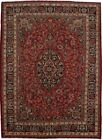 S Antique Handmade Traditional Red Persian Wool Rug Oriental Area Carpet 8X11