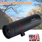 Mini Pocket Compact Monocular Telescope 10x25 Camping Hunting Sport Hiking USA