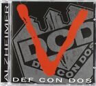 DEF CON DOS - Alzheimer - CD - Import - **Excellent Condition**