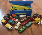 19 Vintage 1970s Lesney Matchbox Cars w Mini Case