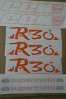 ccm R30 complete decal / graphic set in Orange