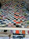 Traditional Square Patch Quilt Top