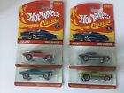 Hot Wheels 2004 Classics 1967 Camaro Set X4 67 Chevy Lot Blue Red Yellow Purple