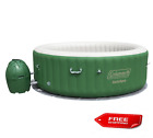 COLEMAN SALU SPA 6 Person Inflatable Outdoor Spa Jacuzzi Bubble Massage Hot Tub