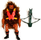 RARE VINTAGE MATTEL HE MAN MASTERS OF THE UNIVERSE GRIZZLOR FIGURE 100 COMPLETE