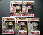 FUNKO POP MARVEL ANT MAN & THE WASP LOT 5 COMMON & CHASE + GHOST
