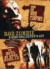 Rob Zombie 3 Disc Collectors Set House of 1000 Corpses The Devils Rejects