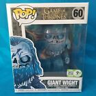 OFFICIAL ECCC 2018 STICKER FUNKO POP! GAME OF THONES GOT GIANT WIGHT 6
