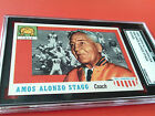 1955 AMOS ALONZO STAGG ROOKIE # 38 TOPPS ALL AMERICAN SGC 84 !!