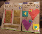 2 pack HEARTS Colorbok Scrapbook Craft Doo Dads 3D paper  wire embellishments