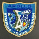 Vintage Apollo X 10 Stafford Young Cernan Collectible Crew Mission Patch