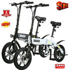 DOHIKER Folding Electric Bike Collapsible Bicycle w LED Headlight USB Port 14