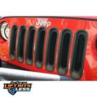 Rugged Ridge 1130630 Black Grille Insert Kit for 07 18 Jeep Wrangler JK