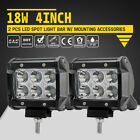 4inch 18w Cree Led Work Light Bar Spot Truck Offroad 12v 24v Driving Lights Part