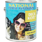 National Pool Finishes Deck Kote Acrylic Waterbase Deck Paint 1 Gallon