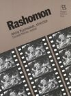 RASHOMON AKIRA KUROSAWA DIRECTOR RUTGERS FILMS IN PRINT By Donald Richie