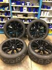 VOLVO 2016 2018 XC90 20 INCH WHEELS AND TIRES POWDER COATED BLACK NEW TAKE OFFS