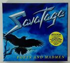 CD SAVATAGE POETS AND MADMEN LIMITED EDITION BOX SET WITH POSTER
