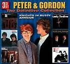PETER & GORDON - Definitive Collection - A World Without Love - 3 CD - **VG**
