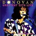 DONOVAN - Donovan - Greatest Hits Live Vancouver 1986 - CD - Extra Tracks Mint