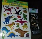 NIP EK Success Jolees Dimensional tools Scrapbook Stickers Dinosaurs glitter