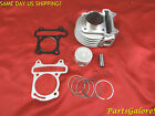 80cc 47mm Big Bore Cylinder  Piston Kit GY6 50cc QMB139 Scooter ATV