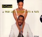 H-TOWN - Thin Line Between Love & Hate - CD - Single - *BRAND NEW/STILL SEALED*