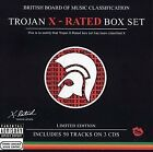 TROJAN BOX SET: X-RATED - V/A - 3 CD - LIMITED EDITION ORIGINAL RECORDING VG
