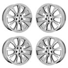 19 LINCOLN MKT PVD CHROME WHEELS RIMS FACTORY OEM 2017 018 2019 3936 EXCHANGE