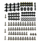 For Honda Motorcycle Complete Fairing Bodywork Screws Bolts Steel Nuts Kit