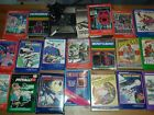 Mattel Intellivision VINTAGE Game Console w/ 2 key pads Model 2609 + 19 games
