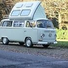 1971 Classic VW T2 Early Bay Dormobile Pop Top campervan fully restored