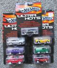 NIP 1 64 DIECAST HOT WHEELS ULTRA HOTS LOT 7 CAMARO MUSTANG CHARGER FORD PANEL