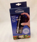 TRUDEAU ONE HAND BATERY OPERATED PEPPER MILL BLACK NEW IN BOX