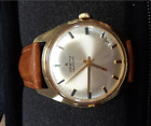 Vintage Zenith gold plated automatic swiss wristwatch