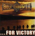 BOLT THROWER - For Victory - 2 CD - Extra Tracks Original Recording Mint