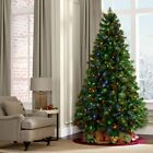 7Ft Fiber Optic Artificial Christmas Xmas Pine Tree with LED Multicolor Lights