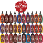 Authentic Kuro Sumi Tattoo Ink Colors Size 1 2 oz 1 oz Bottle Pigment USA Made