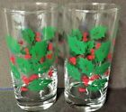 Red Berries Flat Tumblers 8 oz.