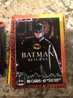 Batman Returns Coplete Card Set With 10 Card Stadium Sub Set N M Fresh From Box