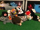 Ty Beanie Baby Babies Lot 10 Slippery Cinders Bananas Fortune