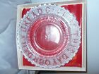 OLD STURBRIDGE VILLAGE GLASS COLLECTOR PLATE GIVE US OUR DAILY BREAD