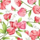Sweet Pea Flannel for Maywood Studios 1 2 Yard 100 Cotton BTHY Pink Rosebuds