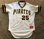 Vintage 1990s Pittsburgh Pirates Bobby Bonilla Rawlings Authentic Jersey 44
