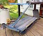 Vintage NH Work Sled Maple Syrup Ice Farm Primitive Antique Old Blue Paint AAFA