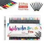 20 Art Soft Brush Colored Watercolor Pen Markers Set Drawing Sketch Painting