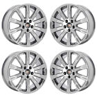 18 CADILLAC ATS COUPE PVD CHROME WHEELS RIMS FACTORY OEM 4732 4735 EXCHANGE