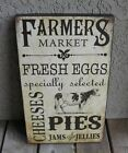 COW Farmers Market Dairy SIGN*Primitive/French Country Farmhouse Kitchen Decor