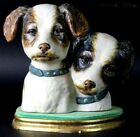 LLADRO DOGS BUST 1977-79 TERRIER DOG**RARE***RETIRED*** CHARITY ITEM